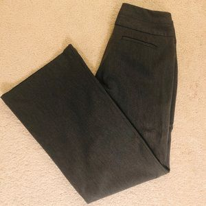 EXPRESS Editor dress pants in Charcoal Gray